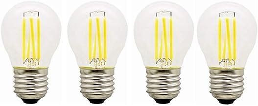 SGJFZD 12V E27 Led Globe Bulb 4W G45 Retro Edison Ball Bulb 2700k Warm White 36V G45 Lamp Bulb AC/DC12-36V for RV Camper M...