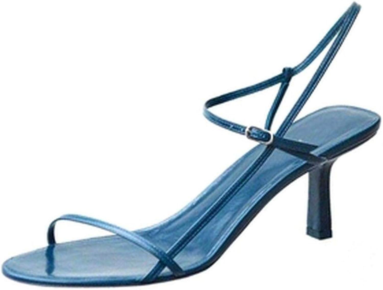 New Sandals Women's high Heel Stiletto Sandals Female Word with Wild Summer Women's shoes