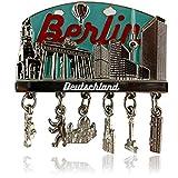 Metall-Magnet BERLIN | typisches Hauptstadt Souvenir | Kühlschrankmagnet | Designed in Germany