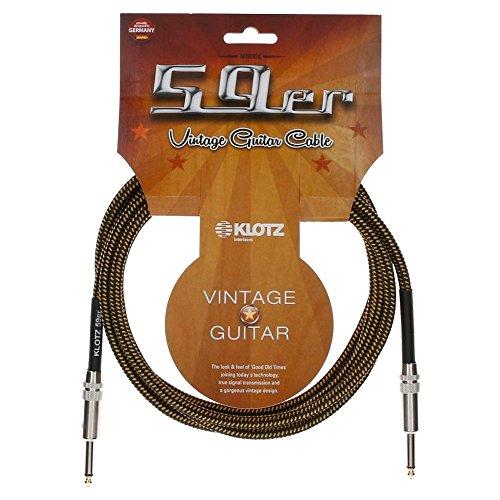 Klotz vin0450–Kabel, Instrument, 4,5m lang