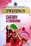 Twinings Cereza y Canela 20 Bolsitas de Té Paquete de 2
