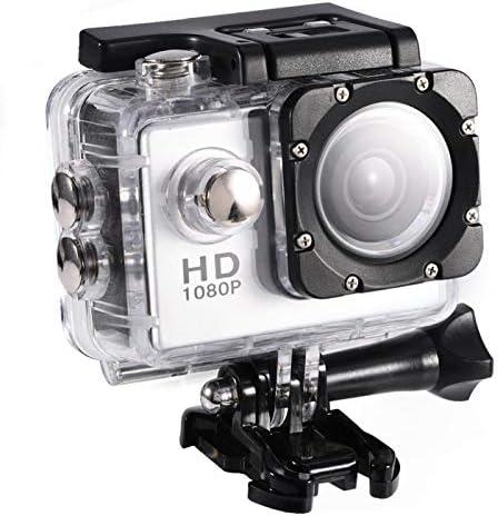 Yosoo Health Gear Cam 233;ra daction Sportive cam 233;scope DV233;tanche sous leau 30M cam 233;scope HD DV224; Angle de 90 degr 233;s avec kit daccessoires de Montage