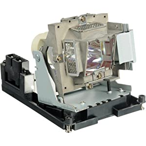 Projector Lamp Assembly with Genuine Original Osram P-VIP Bulb Inside. D803W Vivitek Projector Lamp Replacement