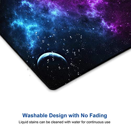 Shalysong Mouse pad Customized Mousepad Non-Slip Rubber Base Mouse Pads for Computers Laptop Office Desk Accessories Nebula Galaxy Mouse pad Photo #4