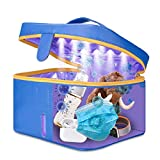 TGB Bolsa de Esterilización UV Esterilizador con LEDs Ultravioleta Rápida Desinfección 99.9% Gérmenes Y Virus con Ozono, Especial para Mascarillas, Chupetes, gafas, Teléfono, Llaves, Cepillo