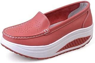 Women Casual Flat Walking Sneakers Wedge Round Toe Comfortable Slip On Platform Nursing Loafers Shoes