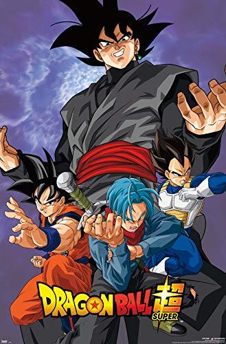 """Trends International Dragon Ball: Super - Villain Wall Poster, 22.375"""" x 34"""", Unframed Version"""