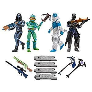 Toy Partner 2 Pack 4 FIGUAS FORTNITE Squad Mode Core, Serie 2, 10 CM, Multicolor (FNT0109) 7