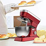 <span class='highlight'><span class='highlight'>4HOMART</span></span> Stand Mixer Blender,10 Speed Kitchen Electric Mixer with 6.3L Stainless Steel Bowl Multi Functional Food Mixer with with Dough Hook&Splash Guard for Cake, Batter, Bread, Desserts