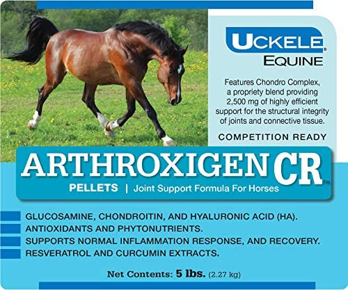 Uckele Arthroxigen CR Pellets for Horses Joint Supplement No Devil s Claw 5 lb product image