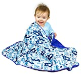 Truth Soft Baby Blanket for Baby Boy or Girl, Animals Print for Toddler Newborn Blankets for Nursery or Crib