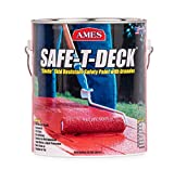 Ames SD1GY 1 Gallon Grey Safe-T-Deck Granulated, 4 Piece