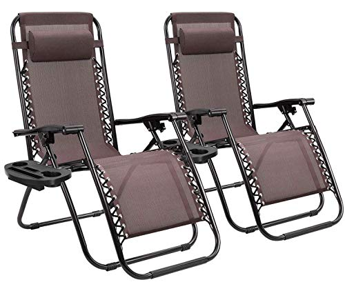 Homall Zero Gravity Chair Patio Folding Lawn...