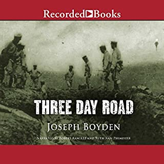 Page de couverture de Three Day Road