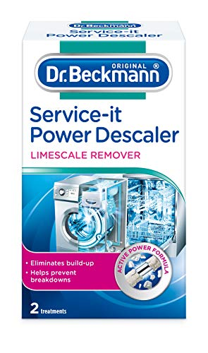 Dr. Beckmann Service-it - Disincrostante di potenza, 2 x 50 g, bianco