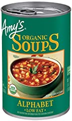 Fun alphabet shapes in a delicious soup featuring organic pasta and vegetables A favorite of kids and adults alike Made from wholesome, natural ingredients and prepared with the same careful attention you use at home USDA certified organic No trans f...