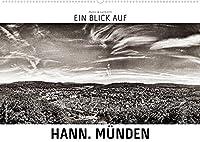Ein Blick auf Hann. Muenden (Wandkalender 2022 DIN A2 quer): Ein ungewohnter Blick in harten Schwarz-Weiss-Bildern auf Hannoversch Muenden. (Monatskalender, 14 Seiten )