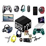 OMKMNOE Mystery Box Surprise Box Zufällige Glücksbox (Elektronische) Kann Geöffnet Werden: Die Neuesten Mobiltelefone, Drohnen, Smartwatches, Bluetooth,Schwarz