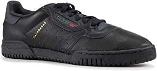 Mens Yeezy Powerphase Black Leather