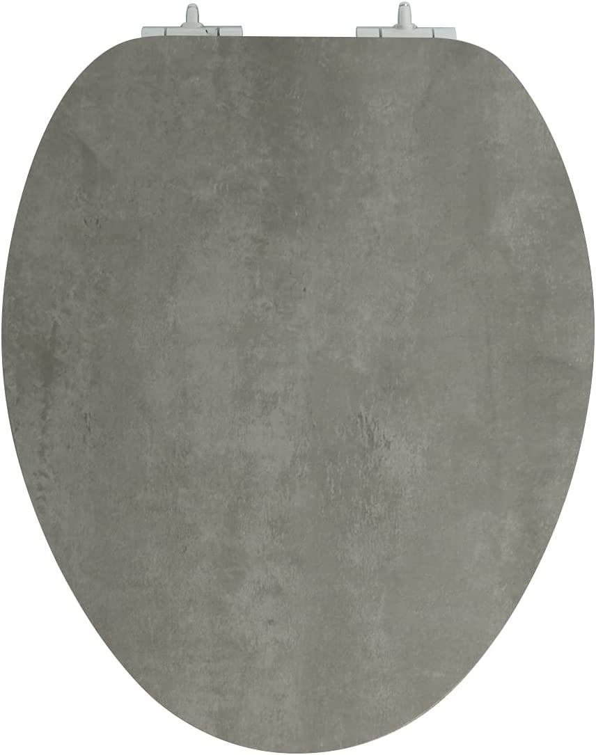 Toilet Seat Elongated Superior with Soft Never Close Will Clearance SALE! Limited time! Strong Hinges