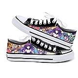 NIEWEI-YI Date A Live Anime Zapatos De Lona Hombres Mujeres Zapatos Casuales Zapatos De Viaje Al Aire Libre,41 EU