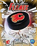 The Poster Corp Calgary Flames 2005 - Logo/Puck Photo Print