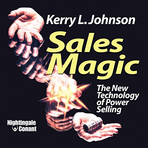 Sales Magic audiobook cover art