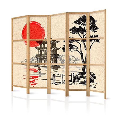 Murando   Biombo XXL Japan Oriente Zen 225x171 cm