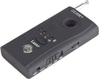Detector de micrófonos ocultos microespías CC308 bug detector anti-espía de RF para DECT,