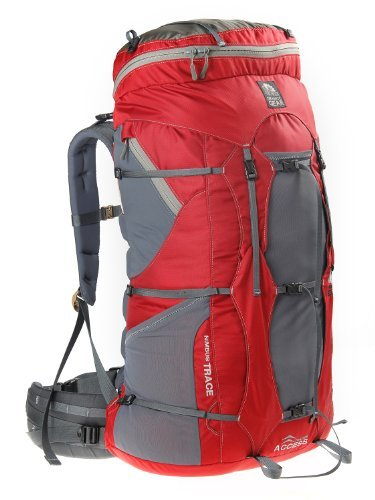 Granite Gear Nimbus Trace Access 70 Ki Backpack - Women's Red/Moonmist Short by Granite Gear