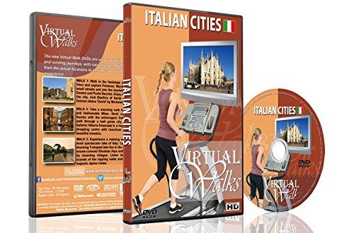 Balade Virtuelle – Villes Italiennes - pour tapis roulant, vélos d'appartement et les sessions de...