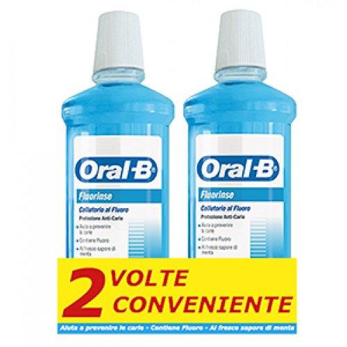 Oralb Fluorinse Bipacco 500ml