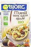 Bjorg Muesli sans sucres Ajoutés Bio 375 g