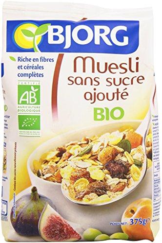 Bjorg Muesli sans Sucres Ajoutés, Bio, 375g