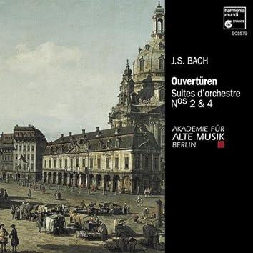 J.S. Bach: Suites pour orchestre No. 2 & 4
