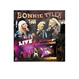 JUYT Bonnie Tyler Live Bonnie TylerAlbumcover Poster
