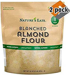 Nature's Eats Blanched Almond Flour, 32 Ounce, 2 Pack