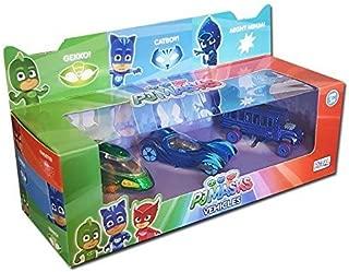 PJ Masks Diecast Hero Vehicles 3 Pack Gekko, Catboy & Night Ninja