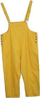Baoblaze 全5サイズ2色 女性 ルーズ バギーパンツ ジャンプスーツ ストラップ ハーレムズボン オーバーオール