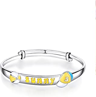 925Silver plated Platinum gold silver baby bracelets/ the boy bracelet/ silver bracelet jewelry-A