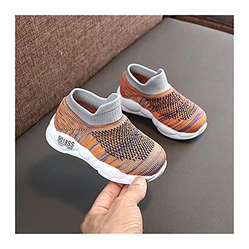 Youpin Dzieci buty na co dzień dla dzieci wysokie góry skarpetki buty chłopcy sportowe lekkie buty dziewczęce dziecięce dzianinowe trampki jesień tenis infantil buty dziecięce (kolor: E, rozmiar buta: 29)