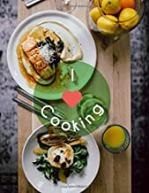 I Love Cooking: Your Personal Recipe Journal with Double Spread Pages for Your Favorite Recipes (Blank Cookbook Recipes)