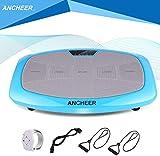 ANCHEER Ultraflache Vibrationsplatte for Fett Abbauen und Body Shaping von Hause,Extra Große...