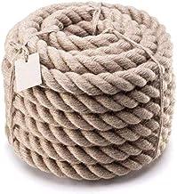 Auoeer Natuurlijke Jute Touw, 10m Touw Hennep Touw Tuin Decking Rope Jute Twine String, Marine, DIY Projecten, Ambachten, ...