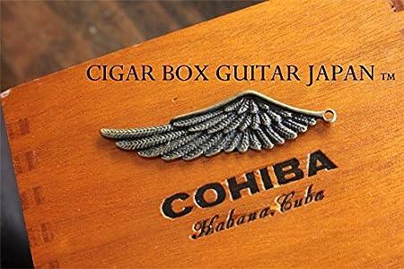 シガーボックスギター装飾パーツ!ブロンズウイング!