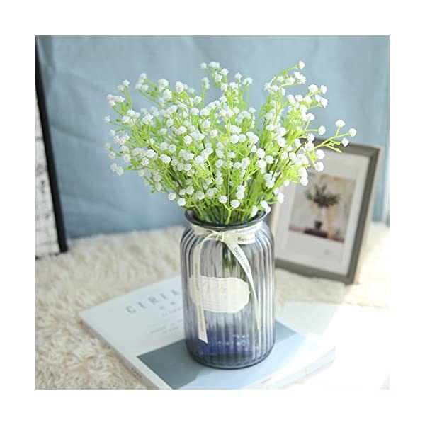 Iulove Artificial Gypsophila Floral Flower Fake Silk Wedding Party Bouquet Home Decor