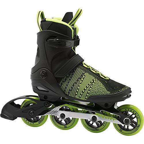 Firefly Herren Ils 510 M90 Skateboardschuhe, Schwarz (Black/Green Lime/Gre 900), 41 EU
