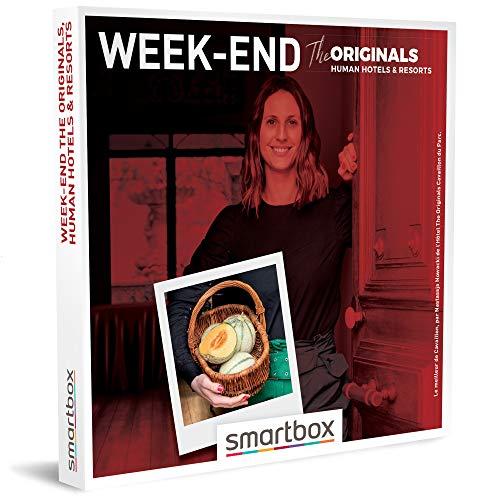 SMARTBOX - Coffret Cadeau Couple - Idée cadeau original : Séjours de charme avec The Originals, Human Hotels & Resorts