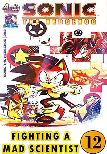 Hedgehog Fighting Mad Scientist: New Collection 12 Funny Graphic Novels Adventure Comic For Kids Children Cartoon Of So-nic (English Edition)
