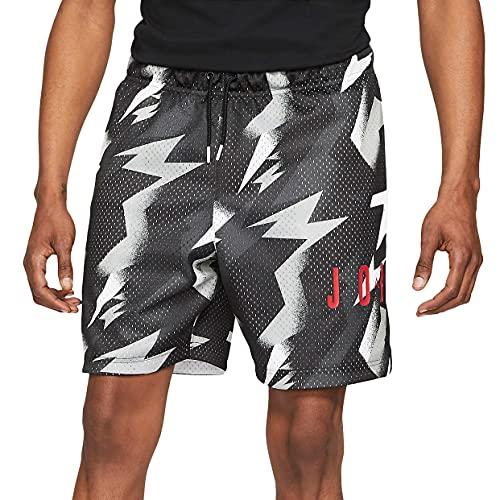 Jordan Jumpman AIR MSH AOP Short Hombres CZ4757-010, Negro, X-Large